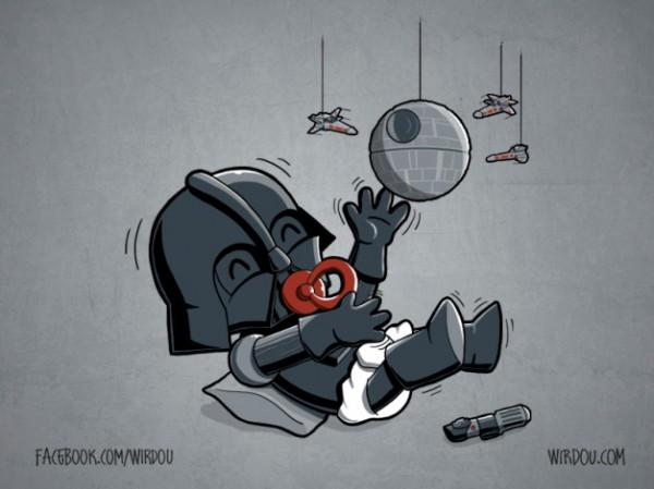 Darth Vader de bebé