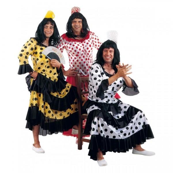 Disfraz de flamenca para hombre