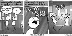Efectos del Kung-fu