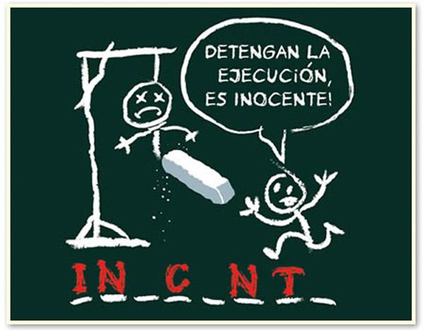 El ahorcado: Inocente