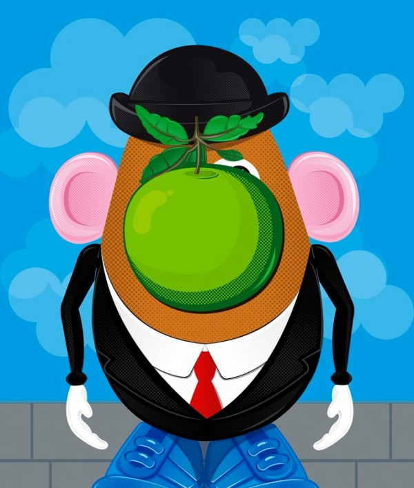 El hijo del hombre versión Mr. Potato