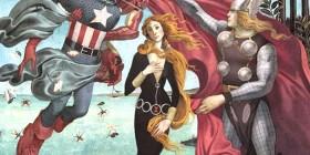 El nacimiento de Venus versión Los Vengadores