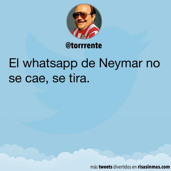 El whatsapp de Neymar