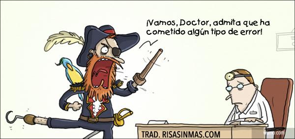 Errores médicos