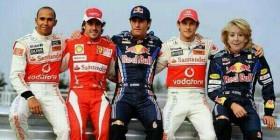 Esperanza Aguirre nuevo piloto de Fórmula 1