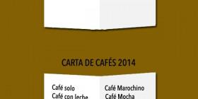 Evolución carta de cafés