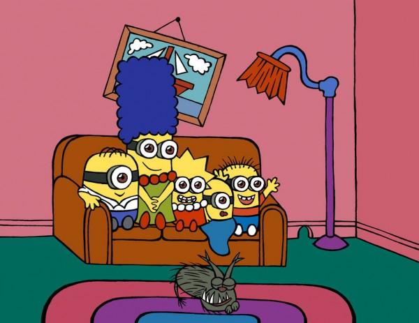 Gag del sofá: Minions