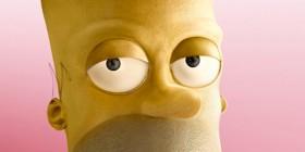 Homer Simpson casi humano