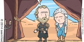 Khaleesi y sus dragones
