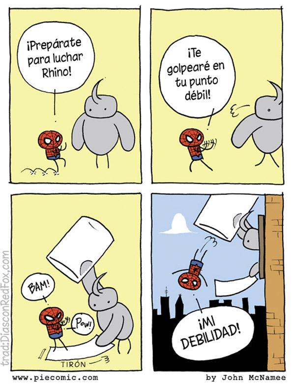 La debilidad de Spiderman