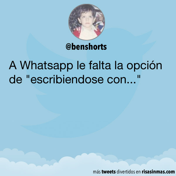 La opción que le falta a WhatsApp