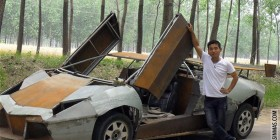 Lamborghini aventador low cost