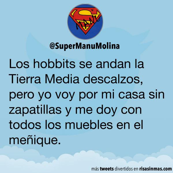 Los hobbits descalzos