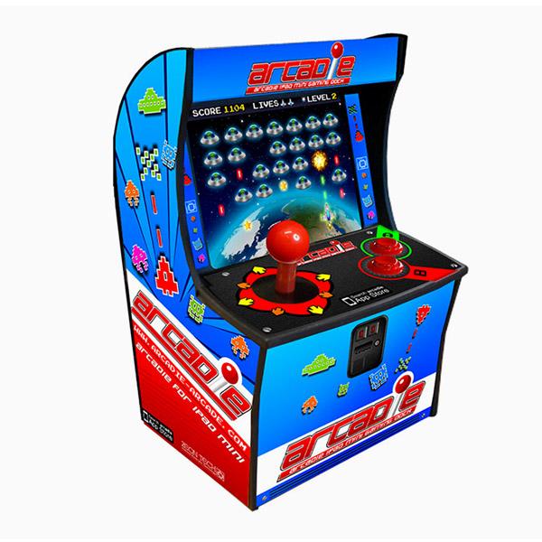 Máquina arcade con iPad mini