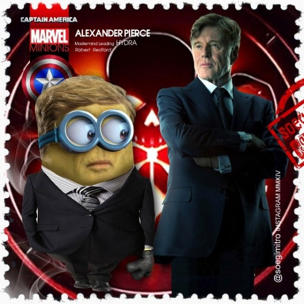 Minion Alexander Pierce (Robert Redford)