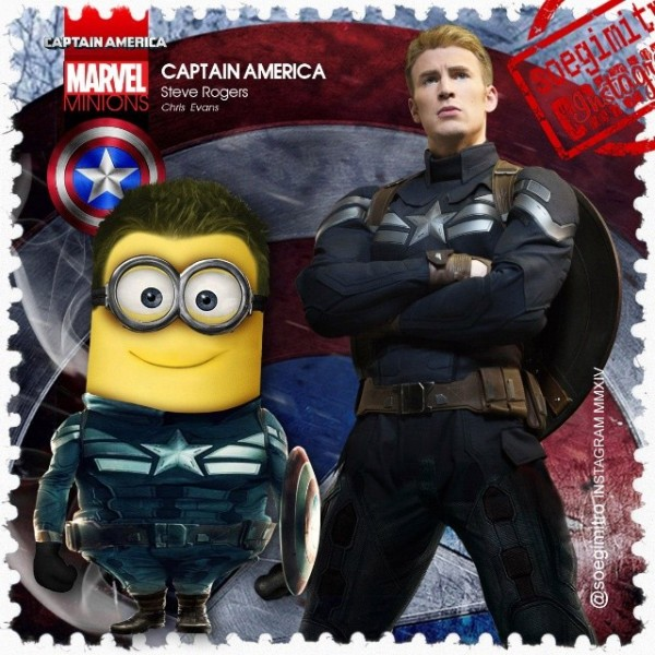 Minion Capitán América