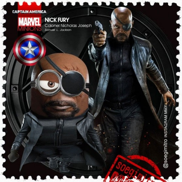Minion Nick Fury