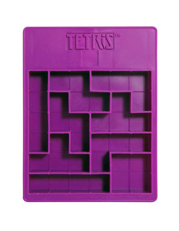 Molde de cubitos Tetris