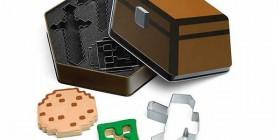Moldes para galletas de Minecraft