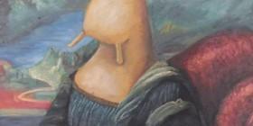 Mona Lisa como un caracol
