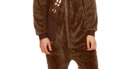 Mono con capucha de Chewbacca