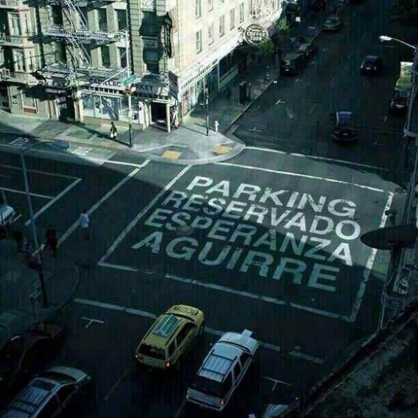 Parking de Esperanza Aguirre