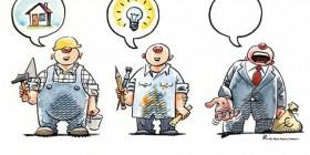Pensamientos y ocupación
