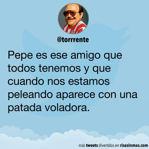 Pepe es ese amigo que todos tenemos