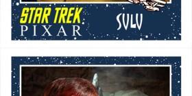 Personajes de Star Trek estilo Pixar