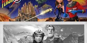 Personajes de cine clásico estilo Pixar