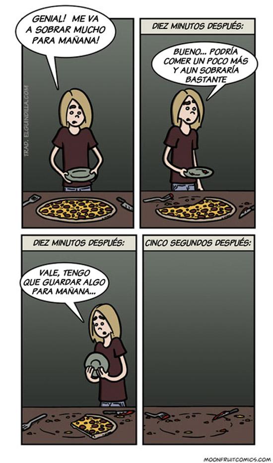 Pizza para mañana