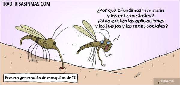 Primera generación de mosquitos de TI