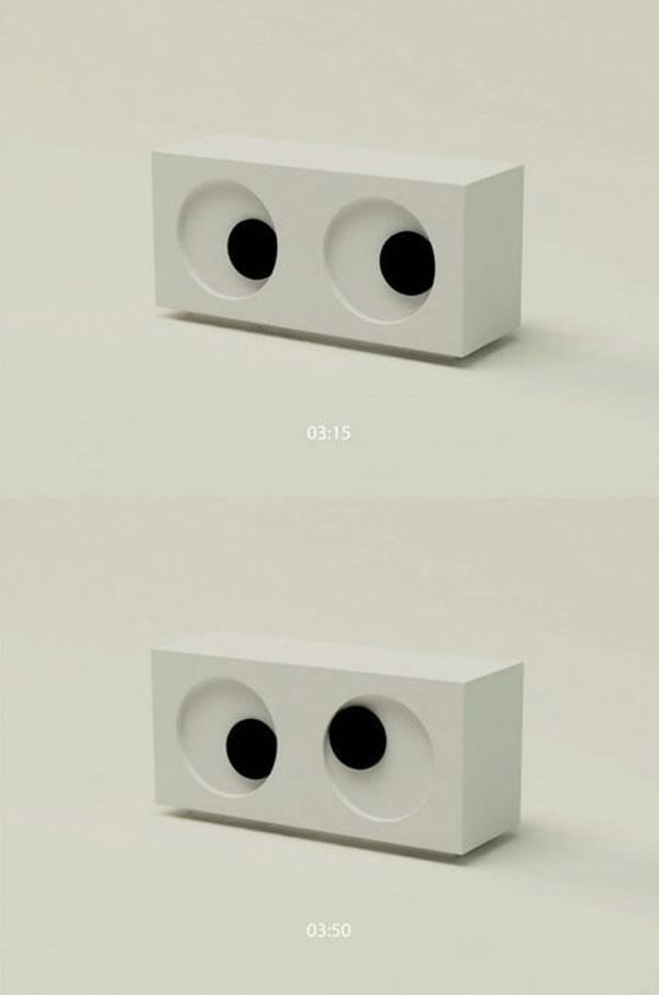 Reloj de ojos
