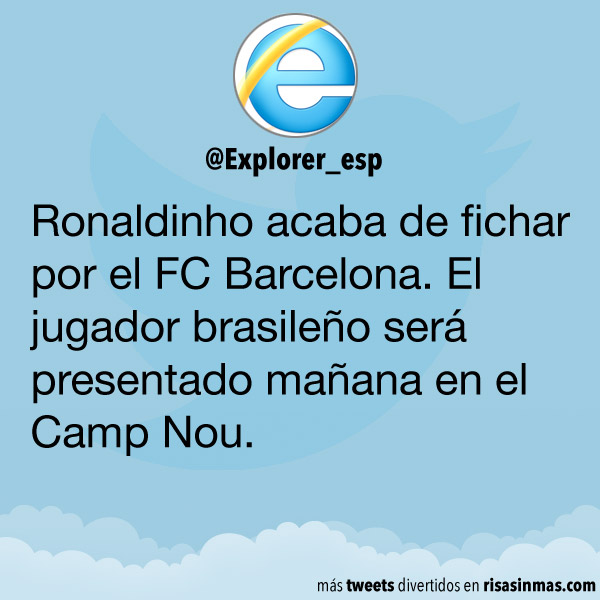 Ronaldinho fichado por el FC Barcelona