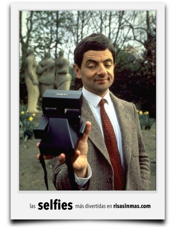 Selfie de Mr. Bean