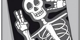 Selfie de un radiólogo