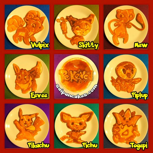 Tortitas Pokemon