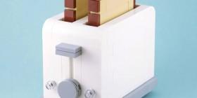 Tostadora hecha con LEGO