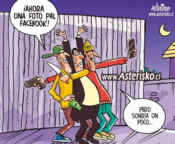 Una selfie Pal Facebook