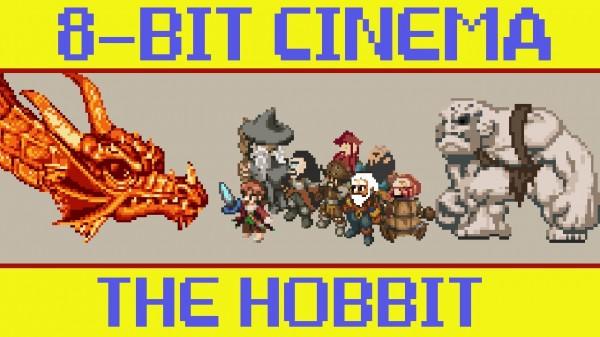 El hobbit en 8 bits