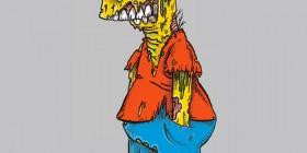 Bart Simpson zombie