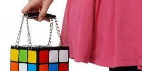 Bolso cubo de Rubik