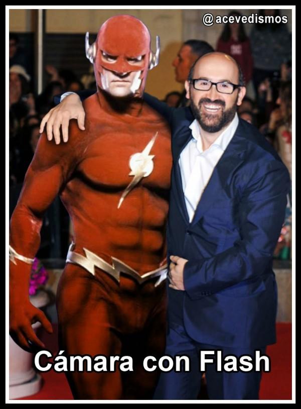 Cámara con Flash