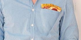Camisa para pizza