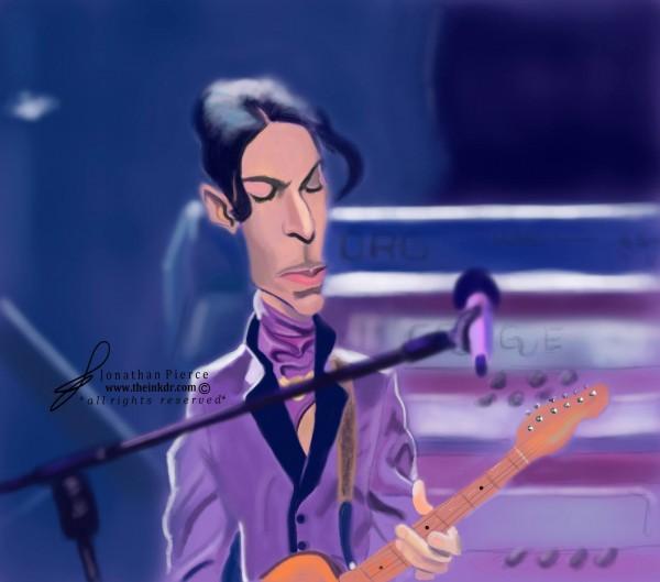 Caricatura de Prince