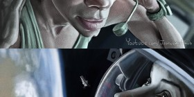 Caricaturas de Sandra Bullock en Gravity