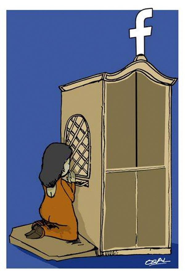 Confesionario moderno