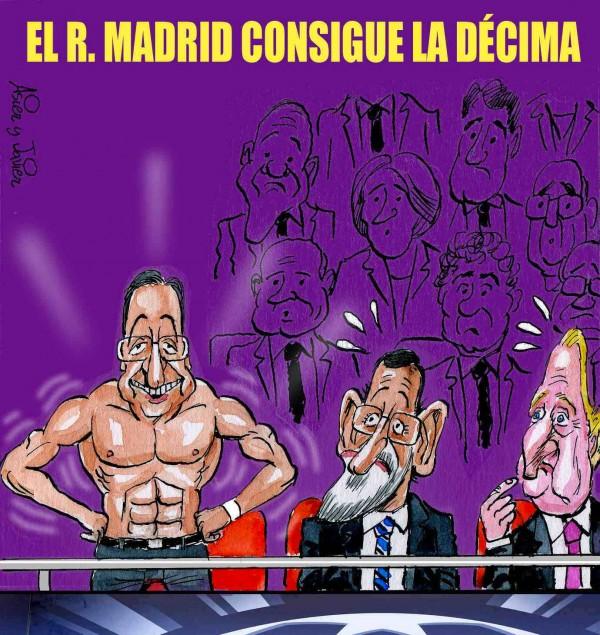 El Real Madrid consigue la décima
