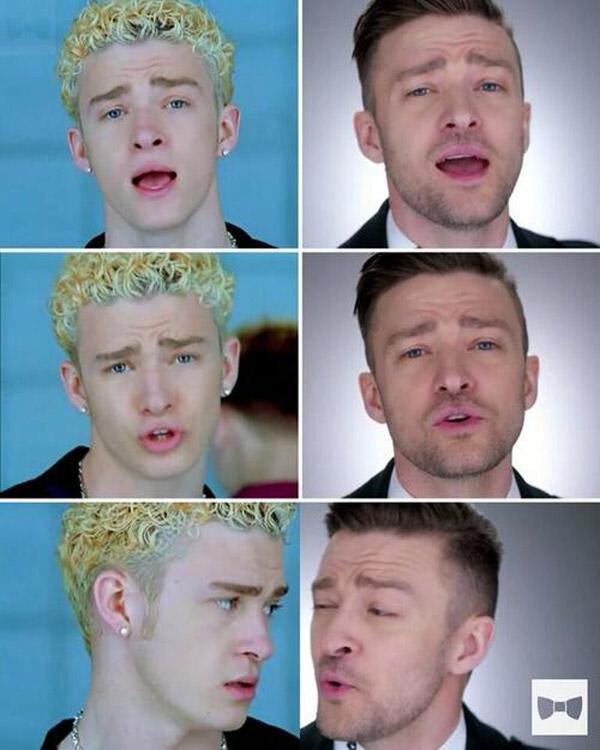 El cambio de Justin Timberlake