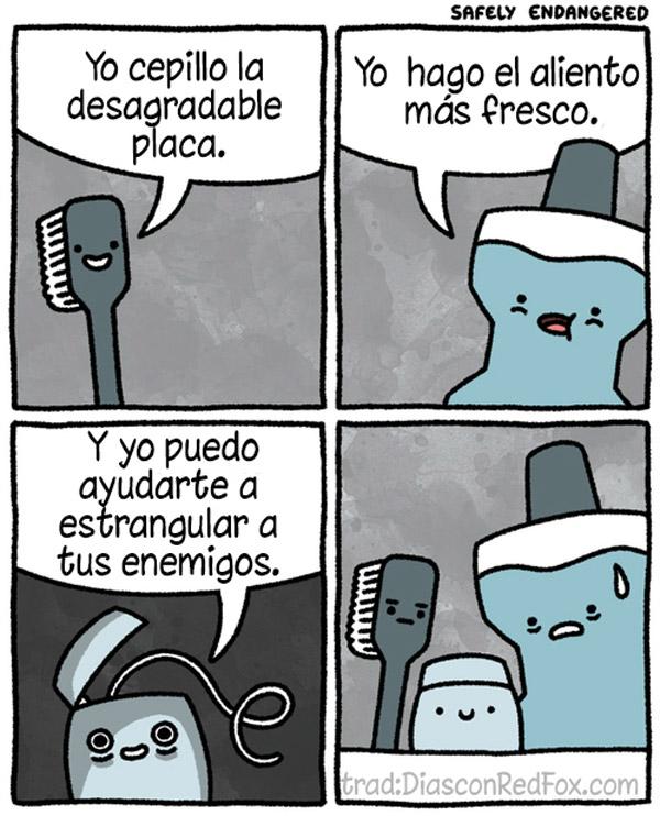 Elementos para la higiene dental